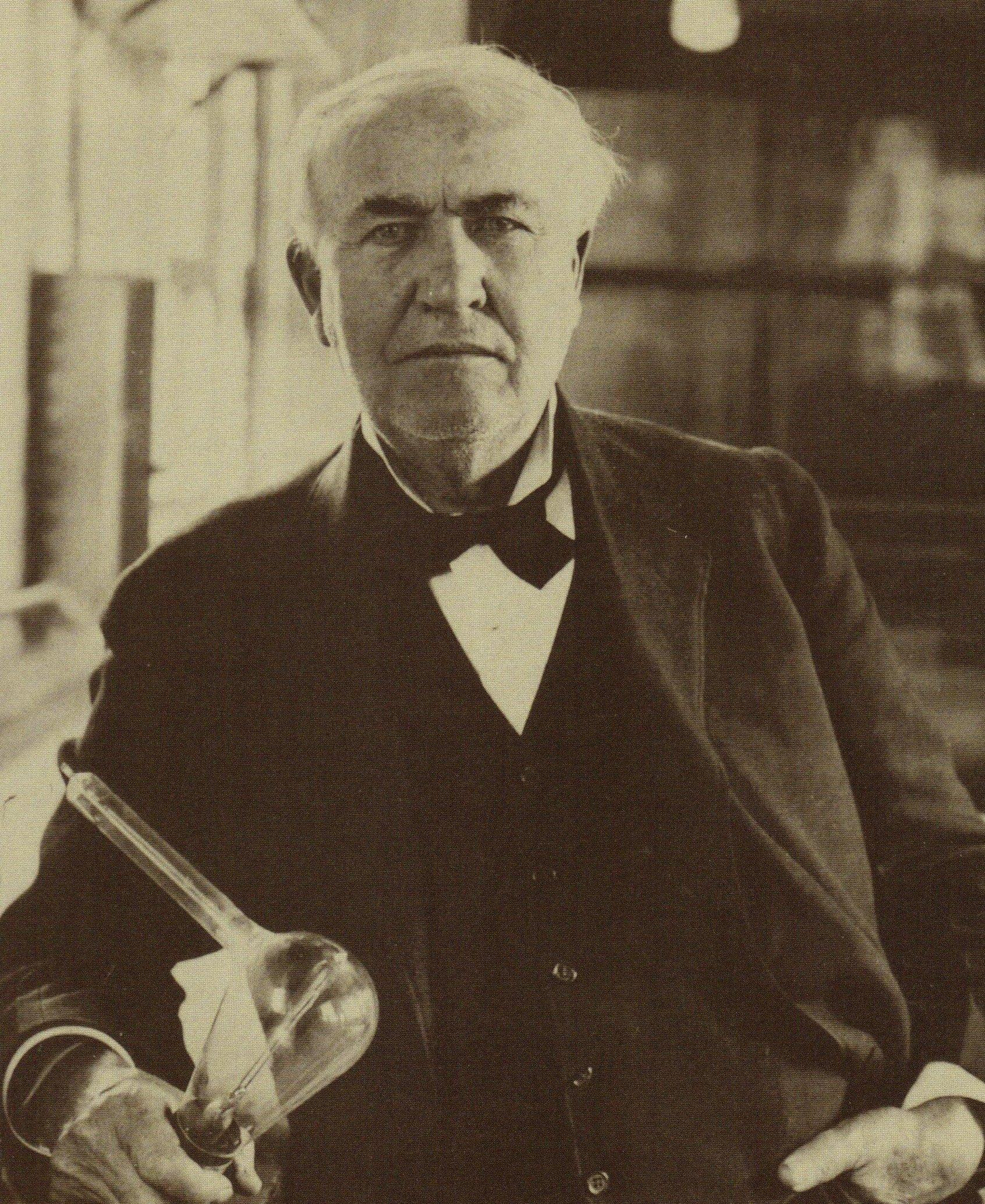 life of thomas alva edison and some of his greatest inventions Thomas alva edison is one of the greatest  1093 inventions some of his  trained by the father of a kid whose life he had saved edison was.